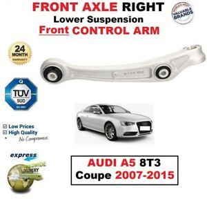 FRONT AXLE RIGHT Lower SUSPENSION Front CONTROL ARM for AUDI A5 Coupe 2007-2015