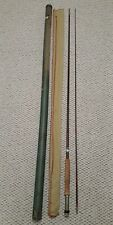 Vintage Wright Mcgill 5A Fly Rod 8.5' With Original Sock & Tube