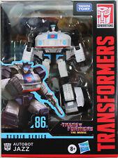 Transformers Studio Series ~ JAZZ ACTION FIGURE #86-01 ~ Deluxe Class