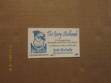 Cba The Gary Steelheads Vintage Defunct Logo Basketball Business Card