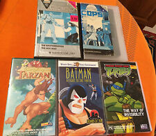 5 x CLASSIC CHILDREN'S VHS Cassettes / Tapes Animated Movies VERY GOOD Cond