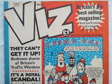 VIZ MAGAZINE COMIC,NO 45,1990 XMAS SPECIAL,WELL PRESERVED.SPACE SEX SHOCKER