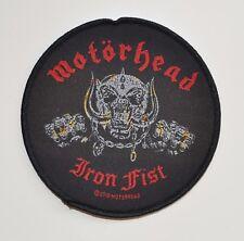 MOTORHEAD - Iron Fist / Album - Patch - 9,7 cm - 164488