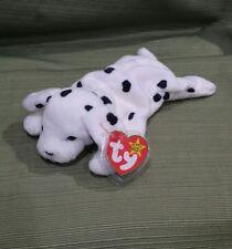 Ty Beanie Baby SPARKY the Dalmatian Dog 1996 PVC w/Many Errors  SUFRACE +
