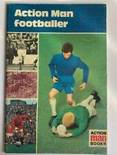 VINTAGE ACTION MAN FOOTBALLER BOOK, 1970 GREAT CONDITION F2