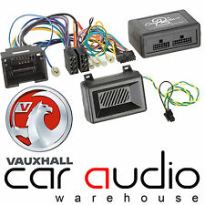 Vauxhall Astra J Car Stereo Steering Wheel & Reverse Sensor Interface CTHVX01