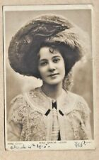 1906 uk rotary phographic series miss gracie leigh edwardian stage star posted