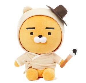 Kakao Friends in Jeonju Traditional Hat Gat Ryan's Study Plush Doll Ryan Limited