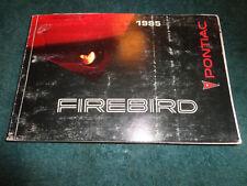 repair manuals literature for pontiac firebird ebay rh ebay com 1996 Pontiac Firebird 1995 pontiac firebird repair manual