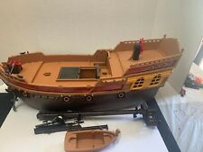 PLAYMOBIL 5135 LARGE PIRATE SHIP - INCOMPLETE - 2011