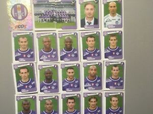 panini foot 2005 equipe TOULOUSE  COMPLETE