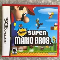 'New Super Mario Bros' *USED* Nintendo DS Red Case Complete w/ Manual TESTED