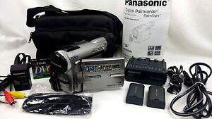 Panasonic PV-DV900d Palmcorder ⚫ Mini DV Camcorder 🔴 BUNDLE ✔️ Works! ✨ Clean!