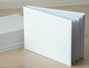 Plain Wedding Guest Book A5 Size Blank Party Guestbook DIY Decorate Yourself