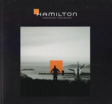 CATALOGUE DE MONTRES HAMILTON