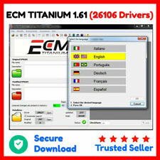 ECM Titanium 1.61 (26106 drivers) ✅ tuning reasignación software ⭐ Secure Download