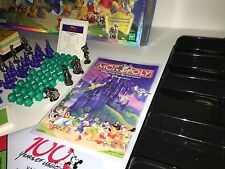 100% Complete Disney Edition Monopoly Nice NM Condition Board Game