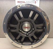 """Toyota Tundra TRD 17"""" Rock Warrior Wheel Set & TRD Lug Nut Kit Genuine OEM"""