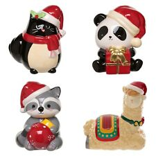 Christmas Money Boxes Kids Funny Ceramic Moneybox Coins Cash Bank Xmas Gift Box