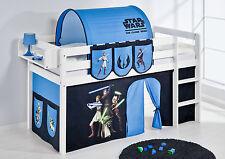 Juego de cama Alta Cuna JELLE 190x90 cm blanco lilokids Star Wars