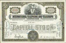DECO => INTERNATIONAL TELEPHONE & TELEGRAPH (USA) (X)