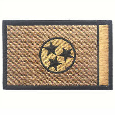 U.S. Tennessee TN STATE FLAG USA ARMY MORALE TACTICAL MILITARY HOOK PATCH