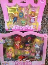 PINYPON FAIRY TALES FIGURES  RAPUNZEL,RED RIDING HOOD, SNOW WHITE AND ALICE IN