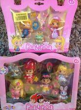 PINYPON Contes De Fées Figurines RAIPONCE, chaperon rouge, blanche neige et Alice In
