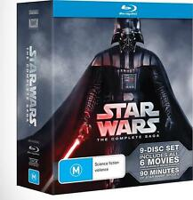 Star Wars Complete Saga, 9 Disc Deluxe Blu-ray Box Set, BRAND NEW UNOPENED