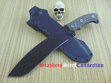 Fehrman Knives #007 Extreme Judgement Chopper/Camp Knife Custom Handmade Kydex