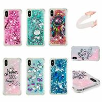 Cute Quicksand Glitter Liquid Dynamic Flowing Case Cover For Huawei Sony Moto