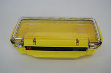 Underwater Kinetics 207 UltraBox Yellow with Clear Lid