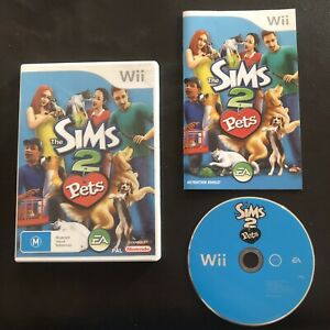 The Sims 2 Pets - Nintendo Wii With Manual PAL