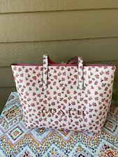AMAZING~COACH 55181 PINK Rosę Floral Print Highline Tote Bag ~Large