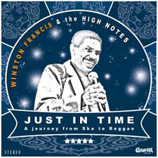 Winston Francis meets The High Notes 'Just In Time - Black Vinyl' LP + CD