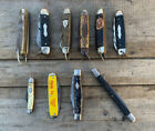 estate lot of 10 vintage POCKET KNIVES Imperial Colonial Klein Boy Scouts