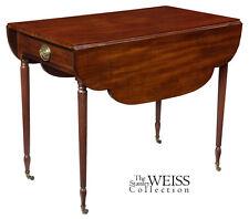 SWC-Sheraton Mahogany Pembroke Table, New York, c.1810