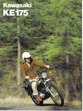 Kawasaki KE175 ( B3 )  Sales Brochure, Original NOS