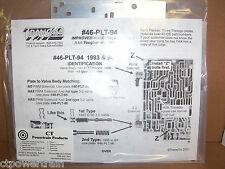 TransGo 4L60E New Valve Body Plate 1993-1994 Heavy Duty HD VB Separator Steel