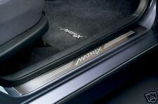 Toyota Matrix 2003 - 2008 Steel Door Sill Set - OEM NEW