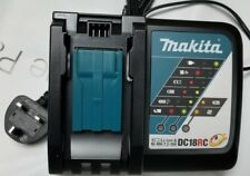 Original Makita UK England 220V DC18RC 14.4-18V Li-ion Fast Charger 3pin UK Plug