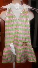 Sharpay Golf Dress High School Musical Pink Green Stripe