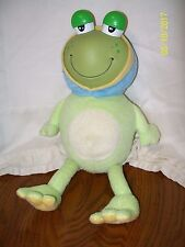 Nuby Glo-Pals Bedlite Buddies Froggy Frog Light Up Musical Plush 13""