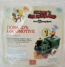 Donald's Locomotive #1 1988 McDonalds Happy Meal Toy Birthdayland