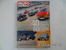 AUTO RETRO N°264 04/2003 COUPE BERTONE PORSCHE 912 HONDA S800   G47