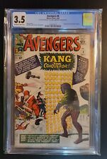 Avengers #8 CGC 3.5 1st Appearance of Kang the Conqueror Major Key MCU   1964