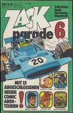 Zack Parade Taschenbuch Nr. 6 - Rätsel ungelöst (Koralle 1974) Z 2+