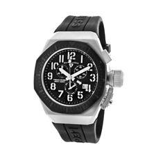 Swiss Legend 10540-01-BB Trimix Diver Chronograph Watch Swiss Quartz Black NEW!
