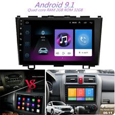 9'' Android 9.1 2+32GB Car Stereo Radio GPS Navi Player For Honda CRV 2006-11 US