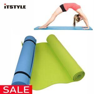 Tapis de Yoga en mousse de confort EVA de 6 MM d'épaisseur pour l'exercice, le
